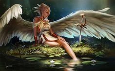 Angel (light) by jameswolf
