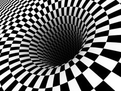 FORM is shown through this 2 dimensional picture by creating a 3 dimensional illusion.