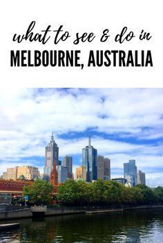 What you need to see and do during your first visit to Melbourne, Australia: http://www.sevencontinentssasha.com/ultimate-guide-melbourne-australia/