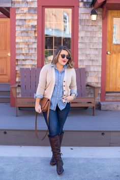 Go-To Cropped Cardigan | Coffee Beans and Bobby Pins