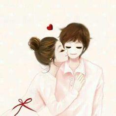 Enakie Korean Illustration Couple Girl Illustrations Cute Art Sweet