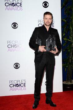 Justin Timberlake | Fashion At The 2014 People's Choice Awards