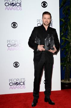 Justin Timberlake | Fashion At The 2014 People's Choice Awards