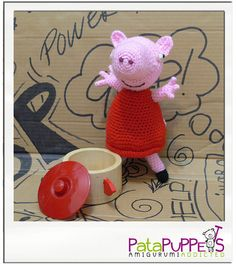 Handmade Peppa Pig, available in different sizes