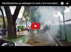 Comienza la represión en la Francisco Fajardo este 13 de Abril