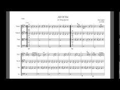 All Of Me (John Legend) String Quartet