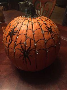 Halloween Pumpkin Designs, Halloween Arts And Crafts, Halloween Projects, Diy Halloween Decorations, Halloween Pumpkins, Fall Halloween, Halloween Porch, Pumpkin Contest, Pumpkin Ideas