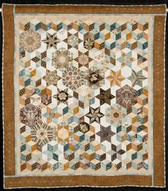 Pieceful Constellations by Mary Huey. 2nd place - pieced - small.  NQA 2014 Quilt Show