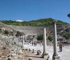 Ephesus Day Tour from Istanbul by Plane http://www.turkeytravelbazaar.com/tour/ephesus-tours/