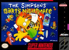 ON SALE NOW! The Simpsons: Bart's Nightmare for the SNES - AllStarVideoGames.com
