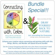 Draw Yourself Back to Nature- and a Giveaway! — trilliummontessori.org