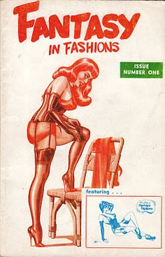 Vintage Sleaze: Eric Stanton Eugene Bilbrew Fantasy in Fashions The Rare Digests #17 Eric Stanton #sleaze #ericstanton #vintage