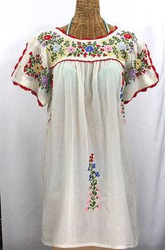 Vintage Hand Embroidered Mexican Children's Dress | Mexicans, Dresses and  Etsy