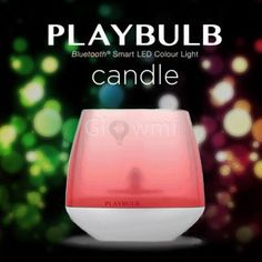 MiPow Playbulb Candle - Bluetooth Smart LED Color Light - Glowmi  - 1