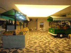 Micro Kitchen Feira Livre do escritrio do Google Brasil em So