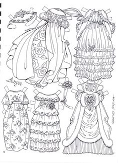 Posts about Paper Dolls in black & white to color & cut written by Marlendy Coloring Book Pages, Printable Coloring Pages, Paper Art, Paper Crafts, Paper Dolls Printable, Dibujos Cute, Vintage Paper Dolls, Digi Stamps, To Color