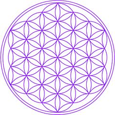 Flower of life - vector - sacred geometry - symbol harmony and balance - stock vector Meditation For Health, Healing Meditation, Daily Meditation, Harmony Symbol, Tattoo Muster, Bild Tattoos, Sketch Notes, Gifts For Photographers, Crystal Grid