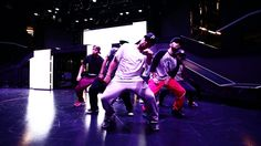 The Road to Luxor Part 3. The JABBAWOCKEEZ rehearsing in their new theater.