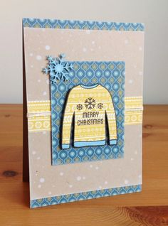 Beth's Little Card Blog: Christmas jumper cards!!