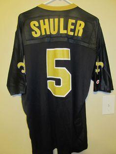 810001d415f Vintage Heath Shuler - New Orleans Saints Jersey - Champion Adult 48  #Champion #NewOrleansSaints
