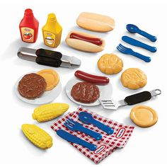 """Little Tikes Grillin' Goodies Play Barbecue Set - Little Tikes - Toys """"R"""" Us"""