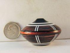 Brian Hart, Hartwood Turnings - kingwood/pickguard SEGMENTED hollow vase