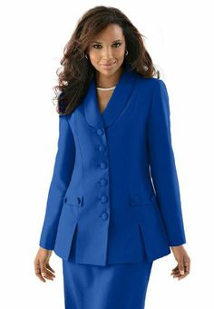 The Best Dressed Women's Plus Size Long Sleeve 10 Button Skirt Suit (Dark Sapphire,16 W) The Best Dressed,http://www.amazon.com/dp/B005GPGHZG/ref=cm_sw_r_pi_dp_6Eo.sb19TF9YNZHM