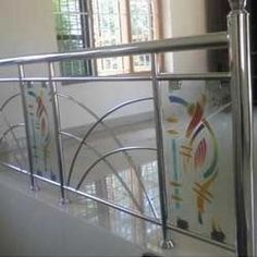 Designer Staircase Railings offered by Patel Trading Corporation, a leading supplier of Steel Railings in Mannurpet, Chennai, Tamil Nadu.