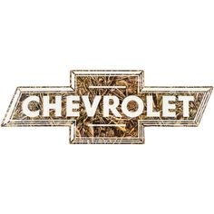 Realtree Camouflage Chevrolet Embossed Tin Sign⎜Open Road Brands