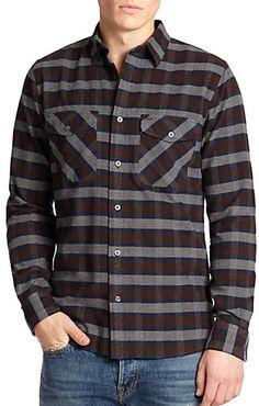 Jack Spade Putnam Plaid Flannel Sportshirt on shopstyle.com 344229d0c8