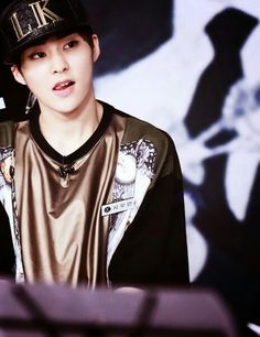 Imagine yourself on the other end of that gaze...let that sink in.  - Xiumin