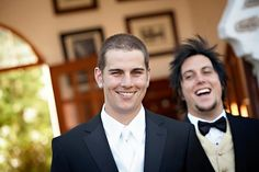 M . Shadows on his wedding day . So precious .