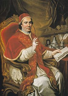 Liguori fell into a clairvoyant trance at Arienzo, Italy, on September 21, 1774, and was present in spirit at the deathbed in Rome of Pope Clement XIV (1705-1774), who had been paralyzed since 1769.