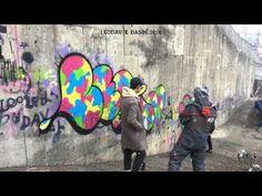 LEODAV X DASOL Graffiti Art TimeLaps