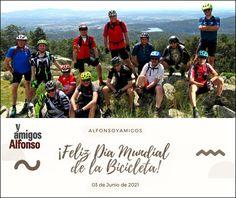 #AlfonsoyAmigos Sierra, Mtb, Baseball Cards, Sports, Paths, Bike, Friendship, Naturaleza, Hs Sports