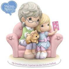 My Granddaughter, Together We Are Picture Perfect Figurine