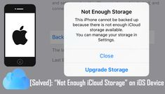 "[#Solved]: ""Not Enough #iCloud #Storage"" on #iPhone/iPad/iPod Touch. 1: Specify What #Data Should and Should Not Be Backed Up. 2: Delete Unwanted Data. 3: Buy More iCloud Storage. 4: Use #iOS Data #Backup Tool."
