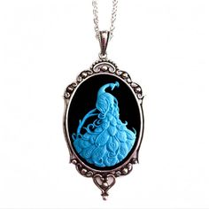 Peacock Cameo Necklace design inspiration on Fab.
