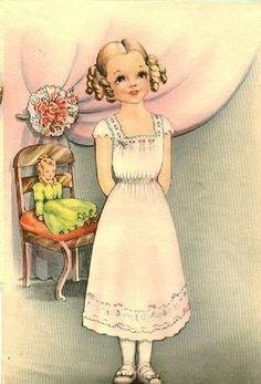 """Jane"" by Helen Page | Gabi's Paper Dolls"