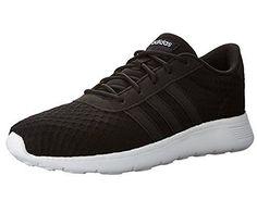 adidas Women s Lite Racer W Sneaker Black White 9.5 M US  Sneakers Adidas  Neo 6bd003f8c29