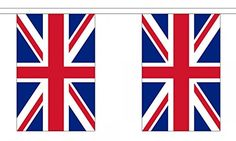 """Union Jack 9 Metre Length With 30 Flags 9""""X6"""" Great Britain Team Gb -- Awesome products selected by Anna Churchill"""