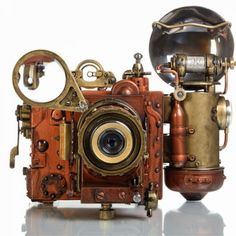 Steampunk Camera may i Pretty Please have this???!