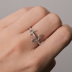 Anchor Ring $32 for Missy in memory of her Papaw