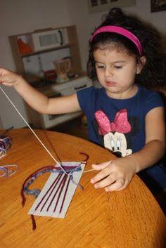 whirls and twirls around the world: Peru crafts: Weaving
