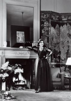 Coco Chanel at her suite at the Ritz Hotel, Paris France  1937  She lived at the Ritz from 1934 until her death in 1971, even during the occupation in WWII, though in a smaller room.