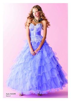 Repunzel inspired prom dress