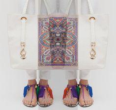 Etro Bag. Jimmy Choo Shoes