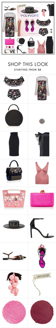 """Happy 10th Birthday Polyvore !!"" by sue-mes ❤ liked on Polyvore featuring ADRIANA DEGREAS, Zuhair Murad, BUwood, Federica Rettore, Brandon Maxwell, YVONNE S, Handle, Rochas, Delpozo and Kayu"