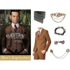 nick carroway - the great gatsby. men's fashion inspiration for the roaring twenties.