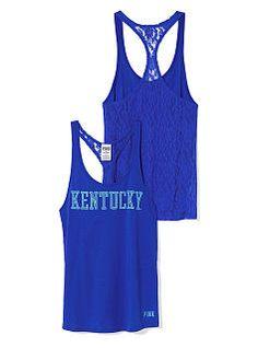 University of Kentucky Lace Racerback Tank